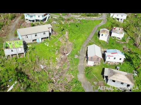 Cottage Dominica after Hurricane Maria | AERIAL DOMINICA