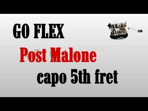 go flex post malone lyrics and chords