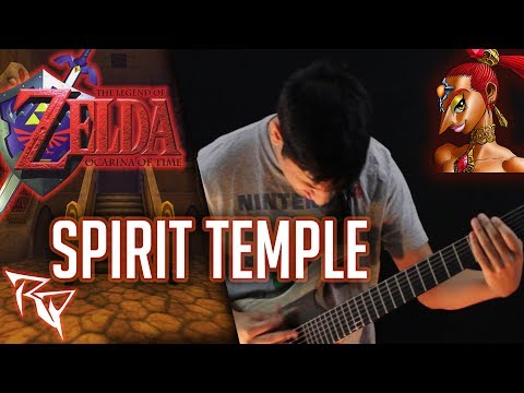 Spirit Temple (Zelda: Ocarina of Time) || Prog-Metal Cover by Ro Panuganti ft. ArtificialFear