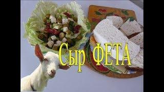 Сыр от балканских пастухов/ Из козьего молока/Мгновенный рецепт/Без выдержки