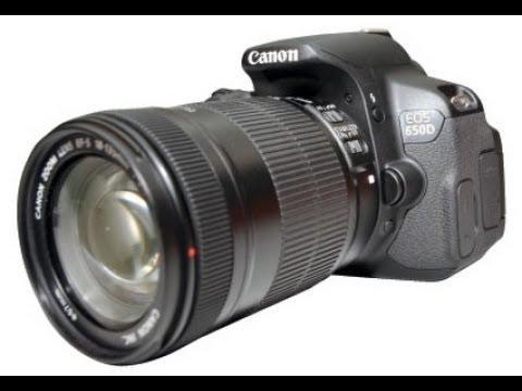 Canon EOS 650D + 18-135mm STM Lens Kit - Unbox & Overview