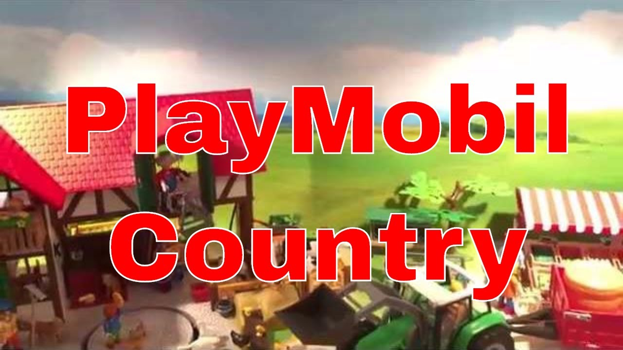 playmobil country set display at galeria kaufhof 00345. Black Bedroom Furniture Sets. Home Design Ideas