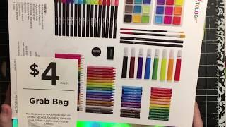 Michael's $4 grab bags. I little haul