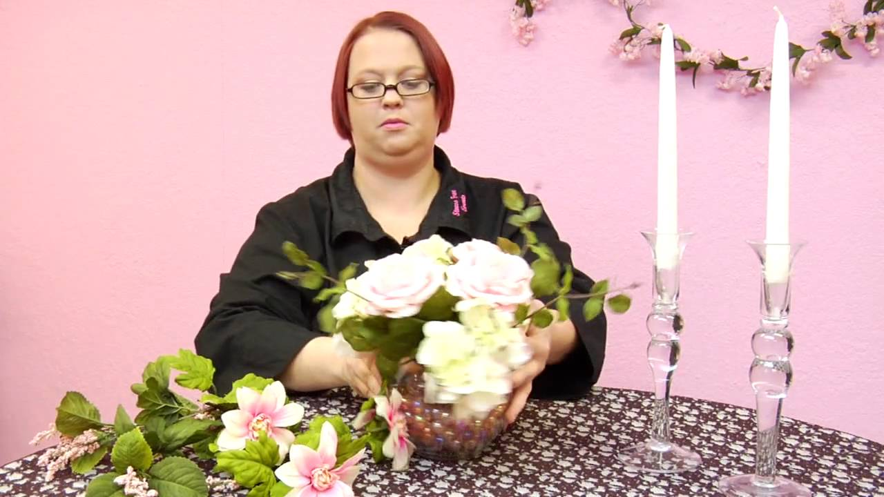 Wedding Decorations : How to Make Wedding Table Centerpieces - YouTube
