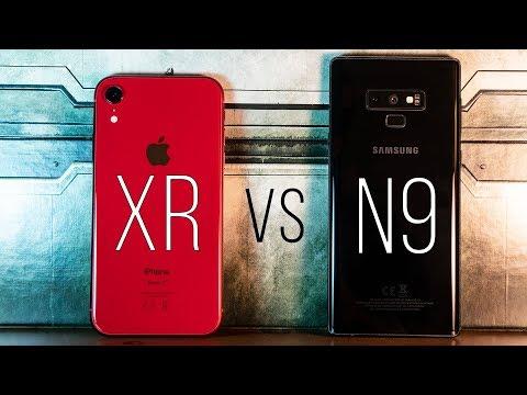 iPhone XR vs Note 9 : Kamera ve Hız Testi (Detaylı Karşılaştırma)