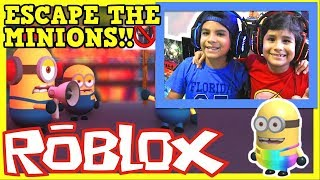 ESCAPE THE MINIONS OBBY Roblox Gameplay 🎮 😀 😎