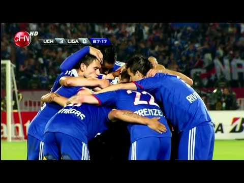 Copa Sudamericana 2011 - Final Vuelta: Universidad de Chile 3-0 Liga de Quito