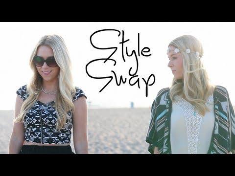 Style Swap Festival Fashion Challenge Youtube