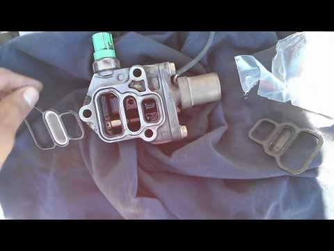 96-00 Civic D16 Y8 Vtec Solenoid gasket change replacement