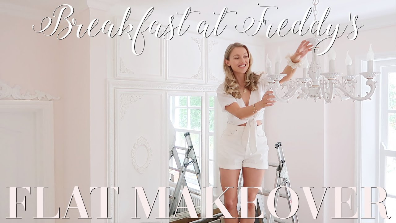 Flat makeover, episode EIGHT! Beautifying my London flat!   ~ Breakfast at Freddy's