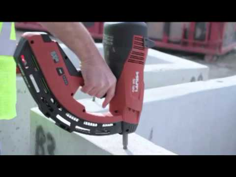 how to perform basic jobsite maintenance on your hilti gx 120 youtube. Black Bedroom Furniture Sets. Home Design Ideas