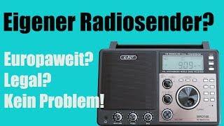 Eigener Radiosender? Europaweit? Kein Problem!