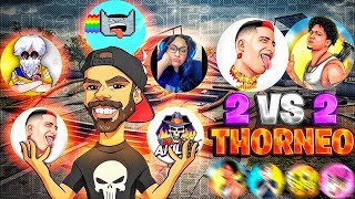 TORNEO DUO INFLUENCERS ASSIAS-ARCHER-NEUTRO-KENG LEE- ||A LOS 900K  REGALO 20K DE DIAMANTESFREE FIRE