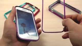 Обзор: Шикарный Алюминиевый Бампер для Samsung Galaxy Note GT-i9220 N7000