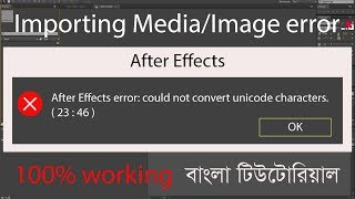 How to Fix After Effects Error Could not Open Source File