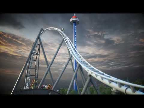 Six Flags Great America Maxx Force Review & Leak