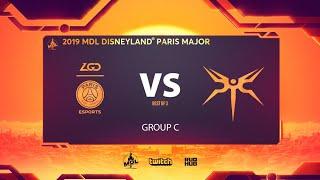 PSG.LGD vs Mineski, MDL Disneyland® Paris Major, bo3, game 2 [Lost & Mael]