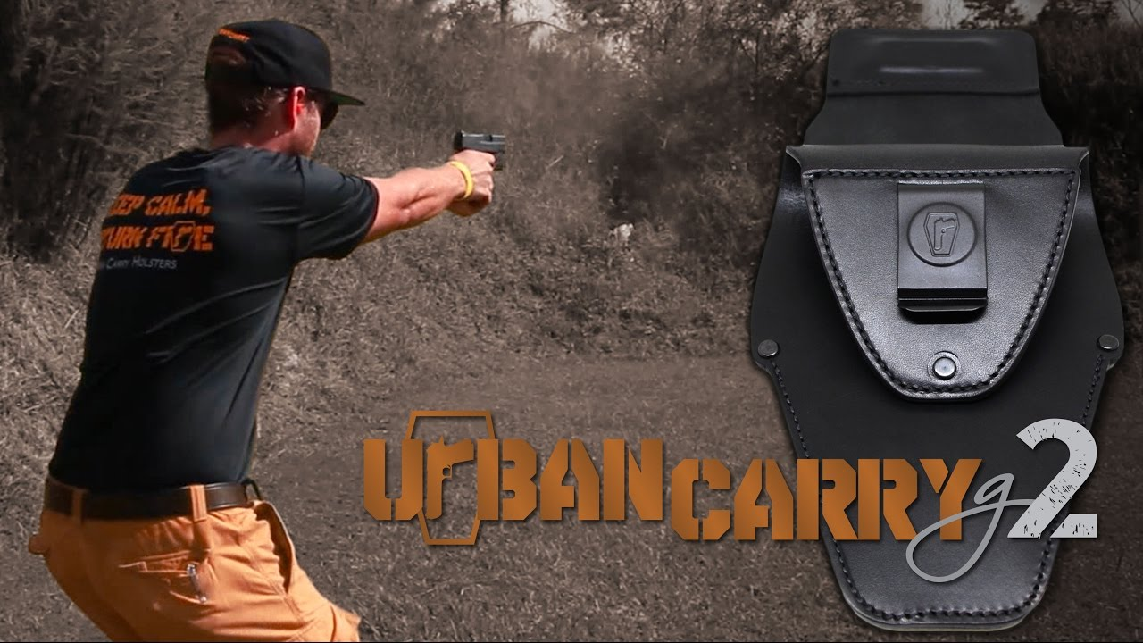 Urban Carry G2 • Incredible Concealed Carry Holster - YouTube