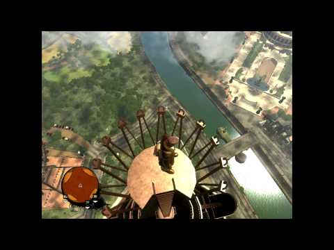 The Saboteur : Jump From The Eiffel Tower