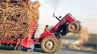 ULTIMATE TRACTOR FAILS!!