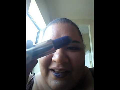 Download Urban decay vice heroine(blue) lip swatch.....ulta samples&nyx liquid lipstick