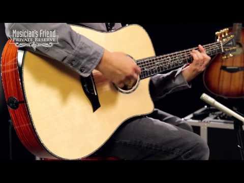 Taylor PS10ce Dreadnought Cutaway ES2 Acoustic-Electric Guitar