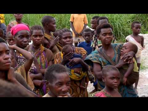 Central African Republic: Iza - volunteer work with the pygmies community