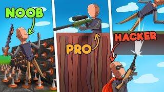 Roblox Strucid - NOOB vs. PRO vs. HACKER! (STRUCID UPDATE ROBLOX)
