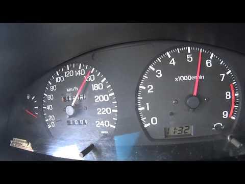 Nissan Sunny sr20det acceleration onboard