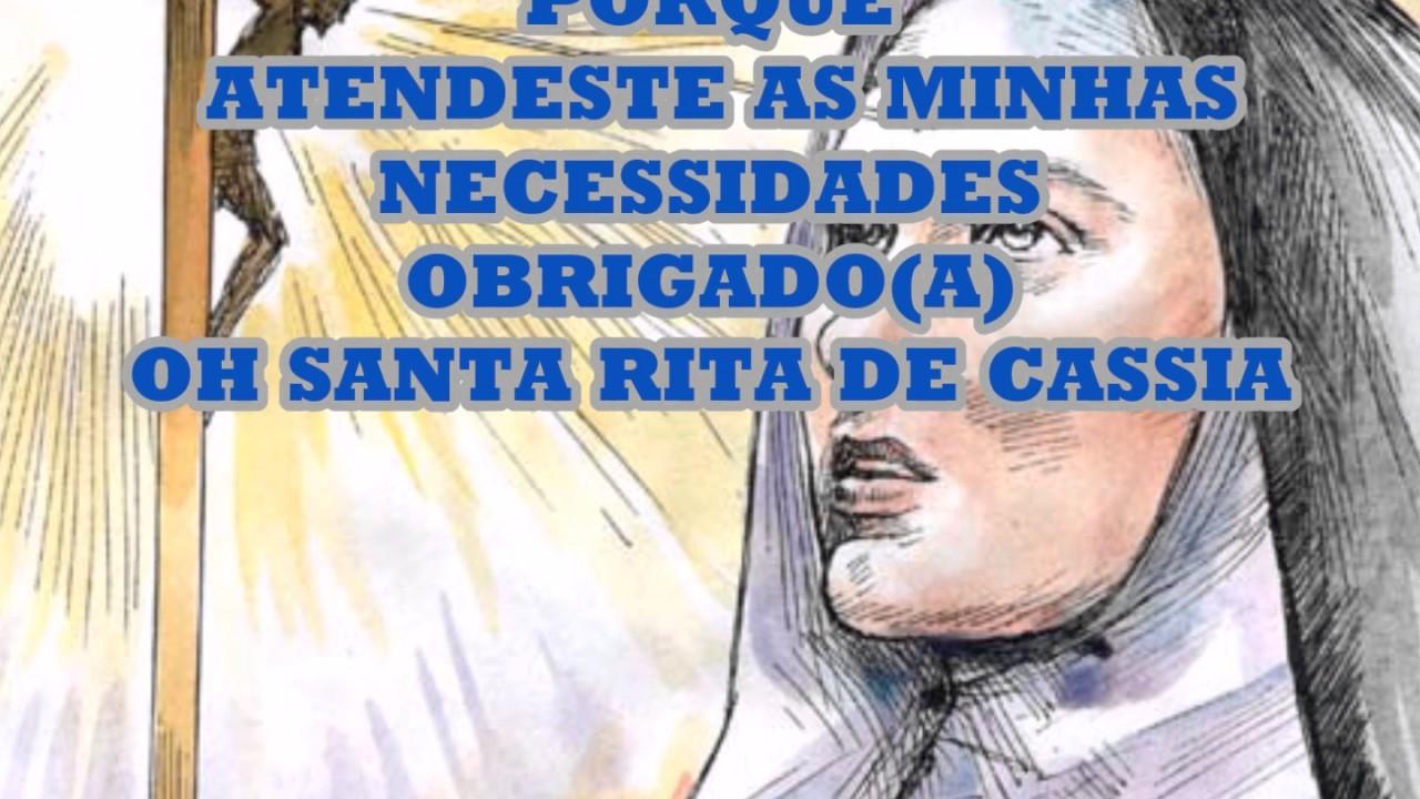Oração De Agradecimento A Santa Rita De Cassia