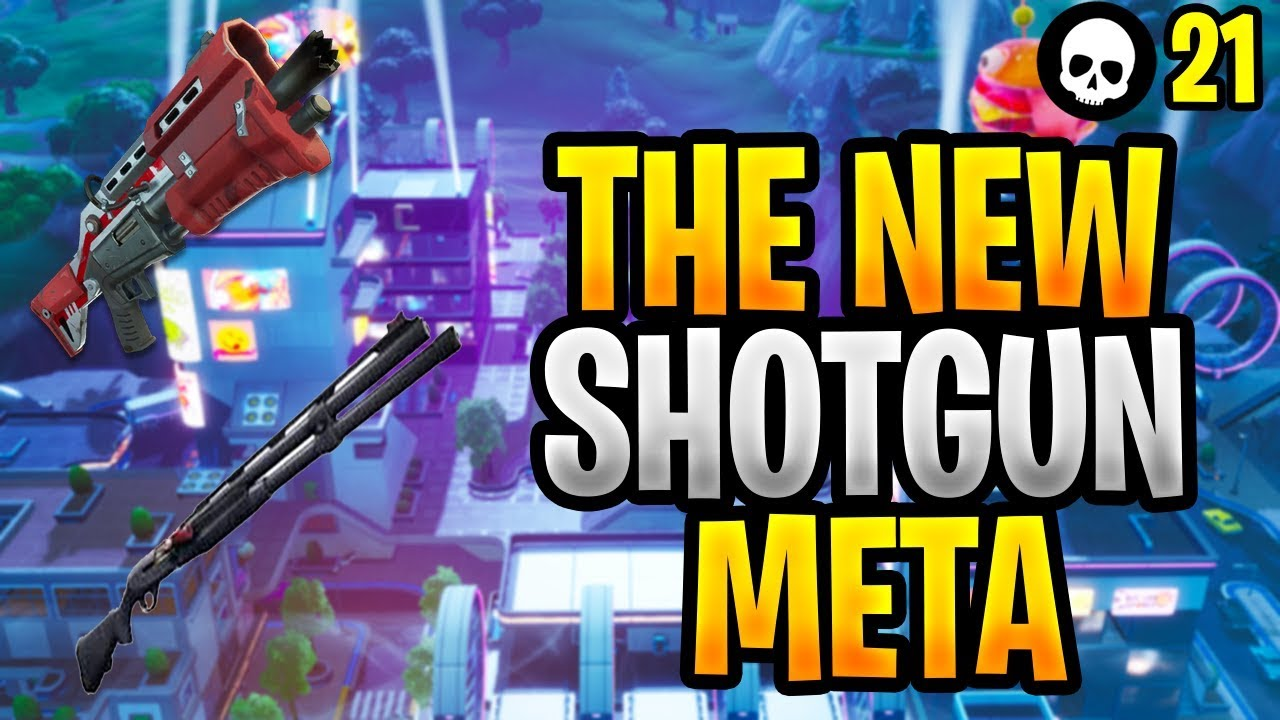 NEW Shotgun Meta - Combat Shotgun vs. Tac Shotgun! (Fortnite Season 9 Shotgun Tips) thumbnail