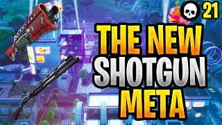 NEW Shotgun Meta - Combat Shotgun vs. Tac Shotgun! (Fortnite Season 9 Shotgun Tips)