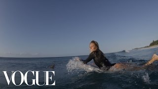 Learn to Surf With World Champion Stephanie Gilmore