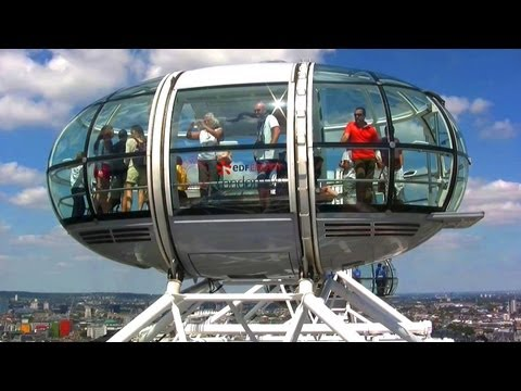 London Eye - London Landmarks - High Definition (HD) YouTube