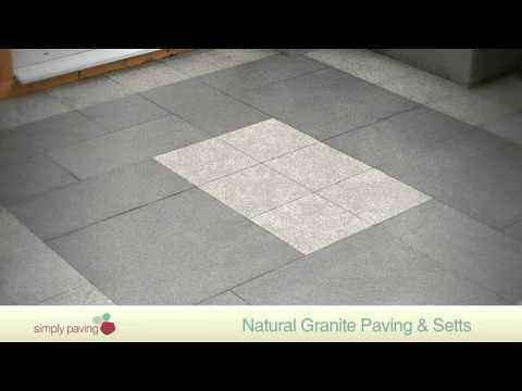 StoneFlair by Bradstone Natural Granite Paving and Setts