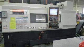 MAZAK INTEGREX 200 IVS CNC LATHE, 2007 USED FOR SALE!