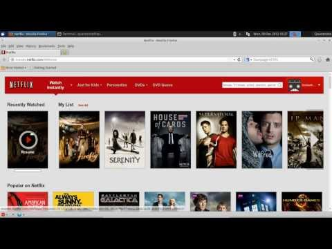 Run Netflix & Silverlight  (somewhat) Natively On Ubuntu/Mint With Pipelight