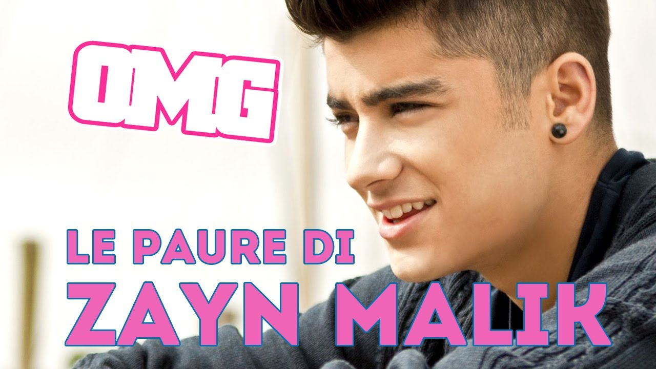 Zayn Malik degli One Direction: di cosa ha paura?