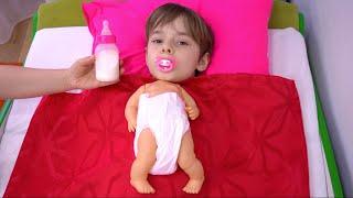 Bogdan s a transformat in bebelus # 2