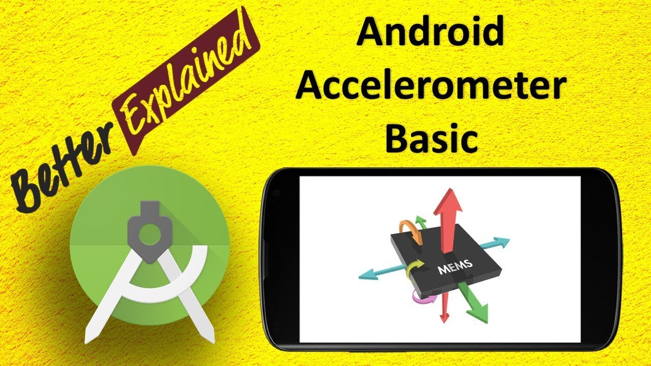 Android Accelerometer Tutorial 1: Getting Started with Accelerometer