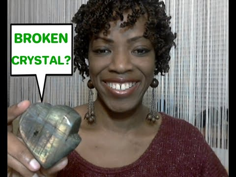 Is Your Crystal Broken or Cracked? What Does it Mean?