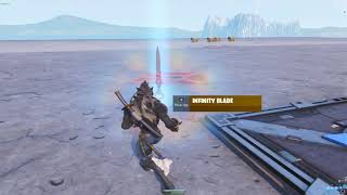 How To Get The INFINITY BLADE Using This FORTNITE GLITCH