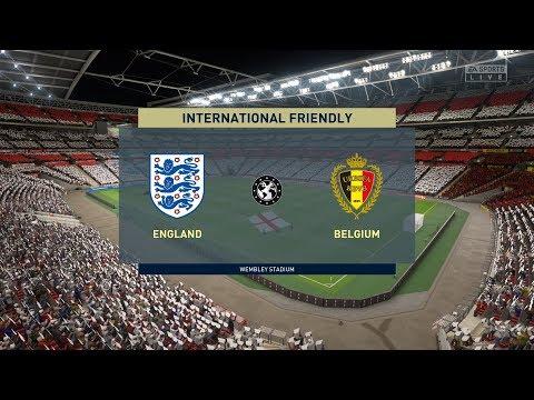 FIFA 20 | ENGLAND VS BELGIUM - Full Gameplay (PS4/Xbox One)