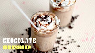 Chocolate Milkshake Recipe - How To Make Chocolate Milkshake