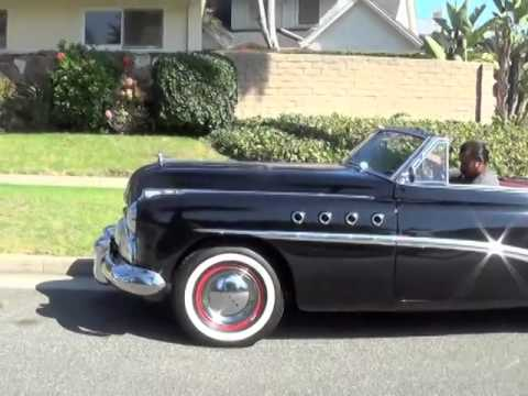 Henry From West Coast Classics Leaves In Our 1949 Buick Roadmaster Convertible