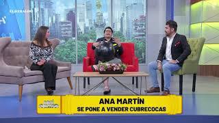 Tras la crisis por la pandemia, la actriz Ana Martín ahora se dedica a esto: VIDEO