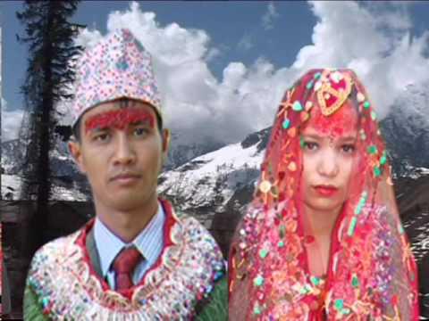 HAPPY WEEDING 2072 WED'S SUSHILA PANDEY  AND SAROJ PANDEY AT ARGHAKHANCHI