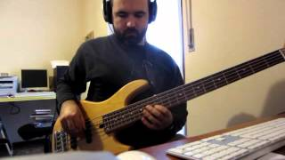 "BASS COVER - Acoustic Alchemy - ""Mr. Chow"""