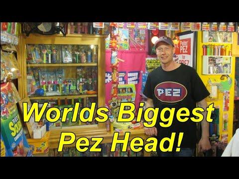 Huge Pez Collection! Documentary of Pez Head Joe