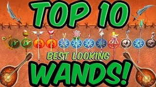 Wizard101 Top 10 Best Looking Wands! Check out over a hundred wand'...